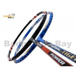 2 Pieces Deal: Abroz Nano 9900 Power + Abroz Shark Tiger Badminton Racket