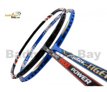 2 Pieces Deal: Abroz Nano 9900 Power + Abroz Shark Tiger Badminton Racket