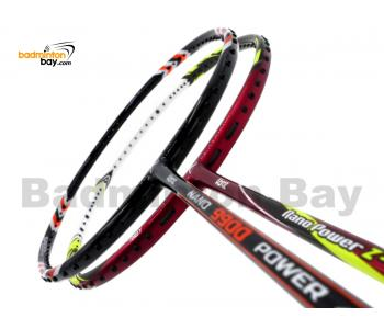 2 Pieces Deal: Abroz Nano 9900 Power + Abroz Nano Power Z-Light Badminton Racket