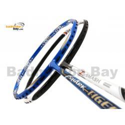 2 Pieces Deal: Abroz Shark Tiger + Abroz Nano Power Z-Smash Badminton Racket