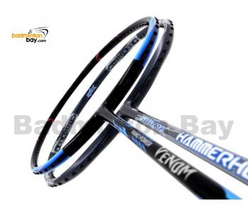 2 Pieces Deal: Abroz Nano Power Venom + Abroz Shark Hammerhead Badminton Racket