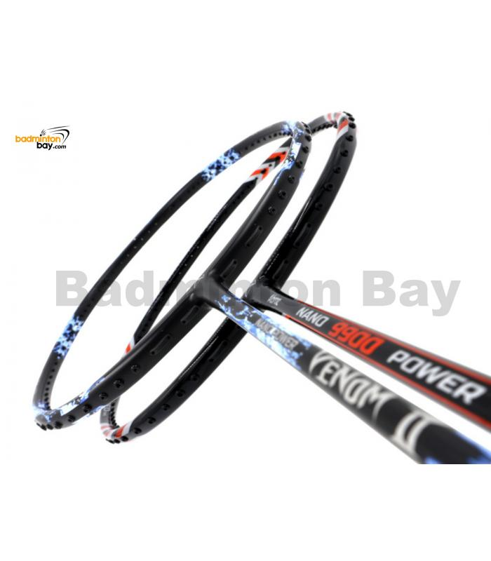 2 Pieces Deal: Abroz Nano Power Venom II + Abroz Nano 9900 Power Badminton Racket