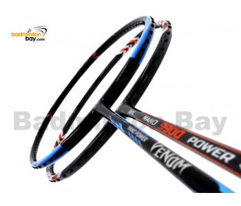 2 Pieces Deal: Abroz Nano Power Venom + Abroz Nano 9900 Power Badminton Racket