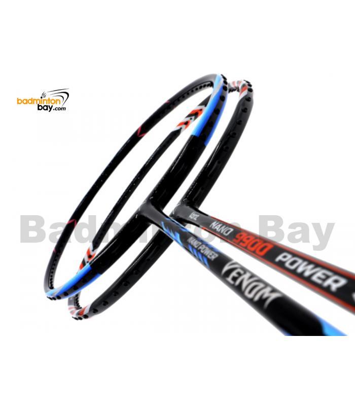 2 Pieces Deal: Abroz Nano Power Venom + Abroz Nano 9900 Power Badminton Racket