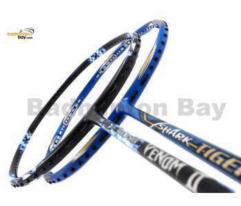 2 Pieces Deal: Abroz Nano Power Venom II + Abroz Shark Tiger Badminton Racket