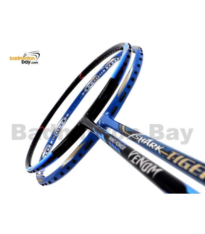 2 Pieces Deal: Abroz Nano Power Venom + Abroz Shark Tiger Badminton Racket
