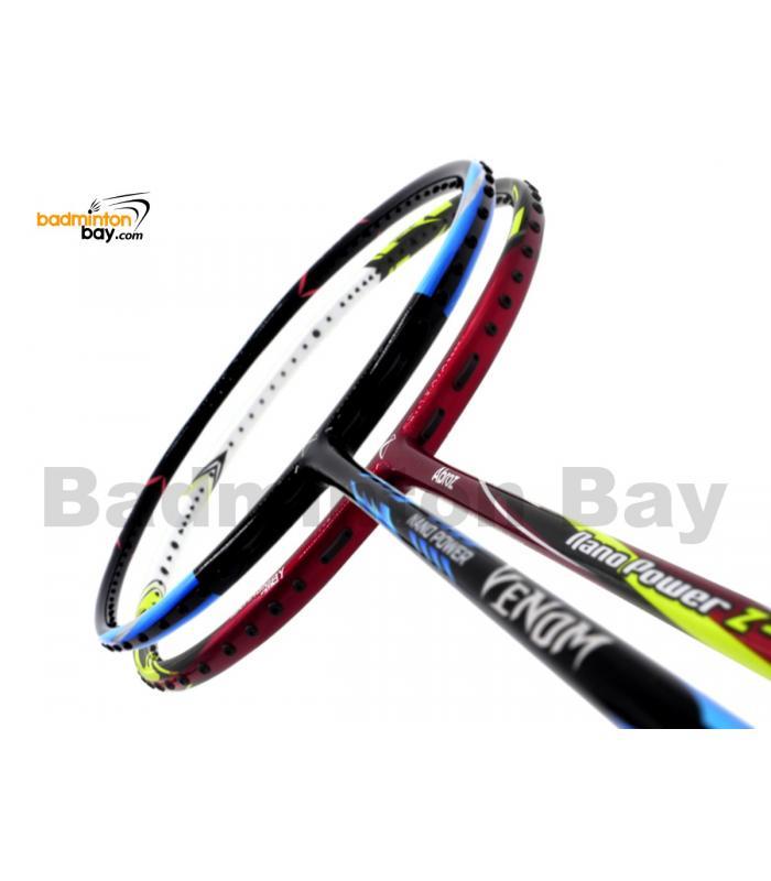 2 Pieces Deal: Abroz Nano Power Venom + Abroz Nano Power Z-Light Badminton Racket