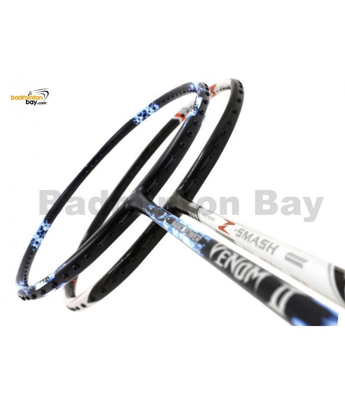 2 Pieces Deal: Abroz Nano Power Venom II + Abroz Nano Power Z-Smash Badminton Racket