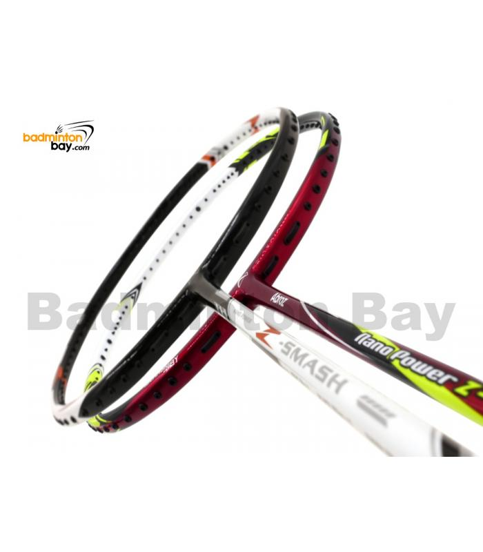 2 Pieces Deal: Abroz Nano Power Z-Smash + Abroz Nano Power Z-Light Badminton Racket