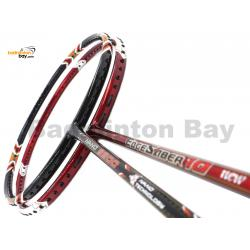2 Pieces Deal: Apacs EdgeSaber 10 Red + Apacs Nano 9900 Badminton Racket