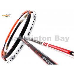2 Pieces Deal: Apacs Zig Zag Speed III + Apacs EdgeSaber 10 White Badminton Racket