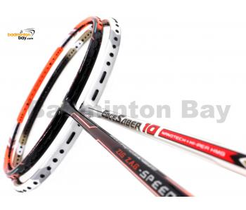 2 Pieces Deal: Apacs Zig Zag Speed III + Apacs EdgeSaber 10 White Badminton Racket