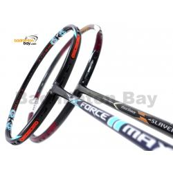 2 Pieces Deal: Apacs Force II Max Dark Grey + Apacs EdgeSaber Z Slayer Badminton Racket