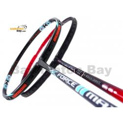 2 Pieces Deal: Apacs Force II Max Dark Grey + Apacs Nano Fusion Speed 722 Red Badminton Racket