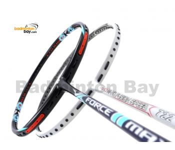 2 Pieces Deal: Apacs Force II Max Dark Grey + Apacs Nano Fusion Speed 722 White Badminton Racket