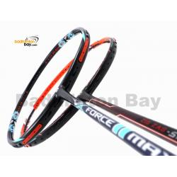 2 Pieces Deal: Apacs Force II Max Dark Grey + Apacs Zig Zag Speed III Prime Badminton Racket