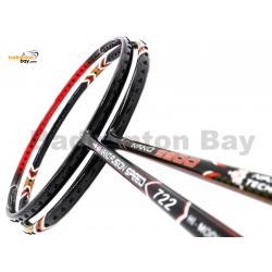 2 Pieces Deal: Apacs Nano 9900 + Apacs Nano Fusion Speed 722 Red Badminton Racket