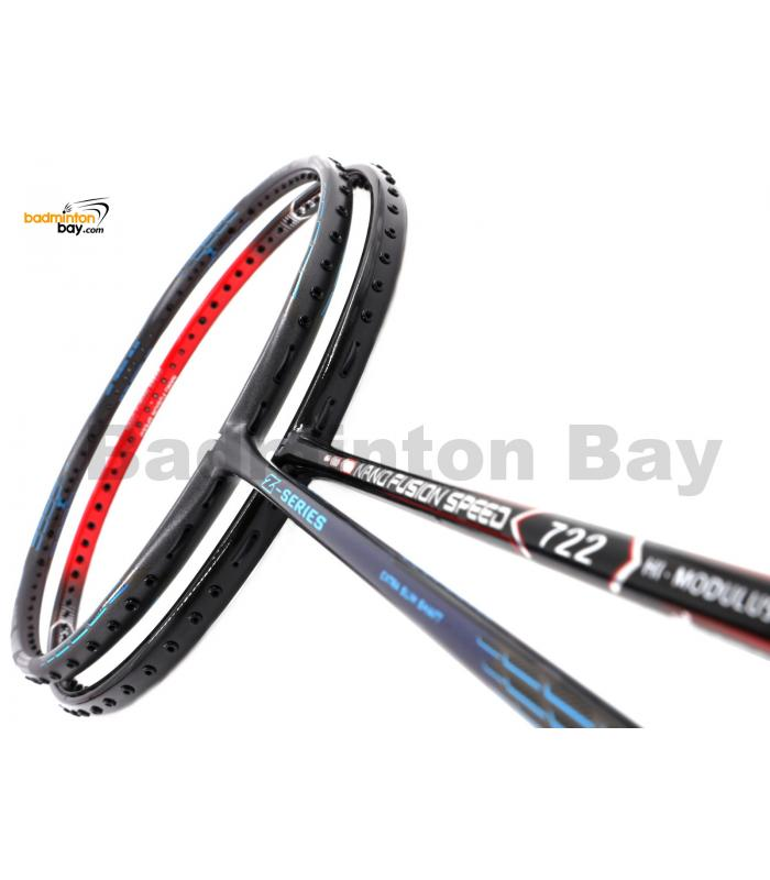2 Pieces Deal: Apacs Nano Fusion Speed 722 Red + Apacs Z Series Badminton Racket