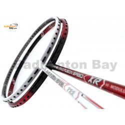 2 Pieces Deal: Apacs Nano Fusion Speed XR Black Red + Apacs Nano Fusion Speed 722 White Badminton Racket