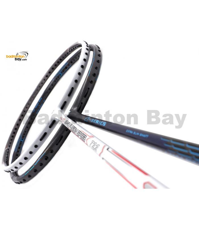 2 Pieces Deal: Apacs Nano Fusion Speed 722 White + Apacs Z Series Badminton Racket