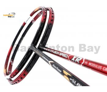 2 Pieces Deal: Apacs Nano Fusion Speed XR Black Red + Apacs Edgesaber Z Slayer Badminton Racket
