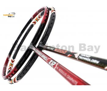 2 Pieces Deal: Apacs Nano Fusion Speed XR Black Red + Apacs Nano 9900 Badminton Racket
