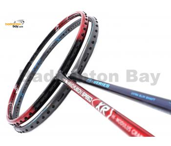 2 Pieces Deal: Apacs Nano Fusion Speed XR Black Red + Apacs Z Series Badminton Racket