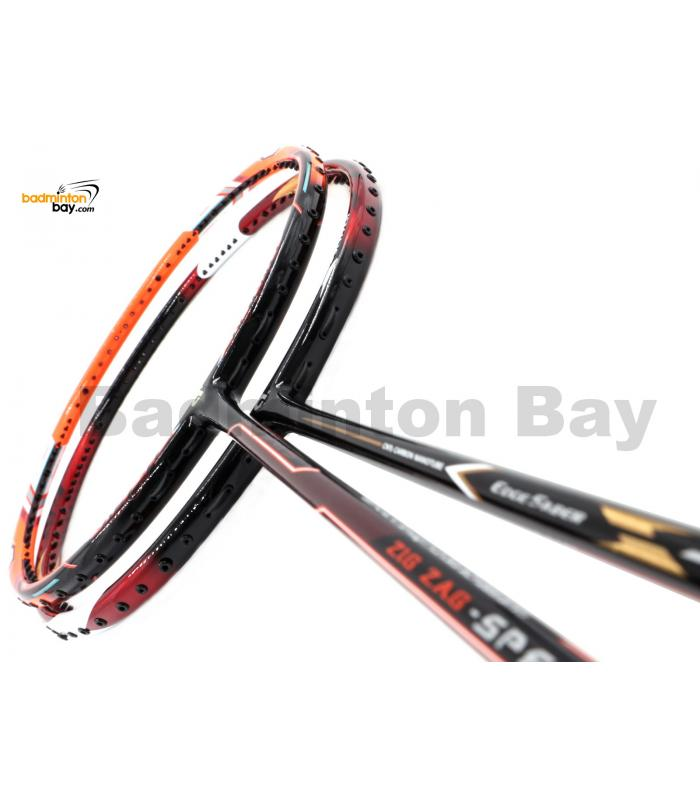 2 Pieces Deal: Apacs EdgeSaber Z Slayer + Apacs Zig Zag Speed III Badminton Racket