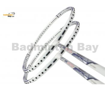 2 Pieces Deal: Abroz Shark Great White Badminton Racket 6U