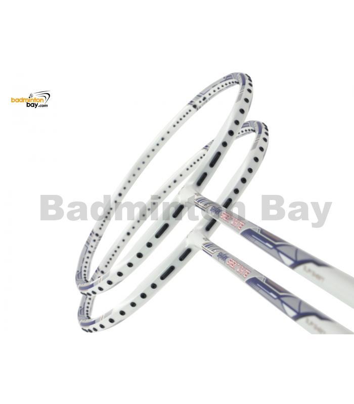 2 Pieces Deal: Abroz Shark Great White Badminton Racket 6U