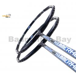2 Pieces Deal: Abroz Shark Hammerhead Badminton Racket 6U