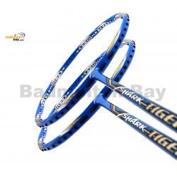 2 Pieces Deal: Abroz Shark Tiger Badminton Racket 6U
