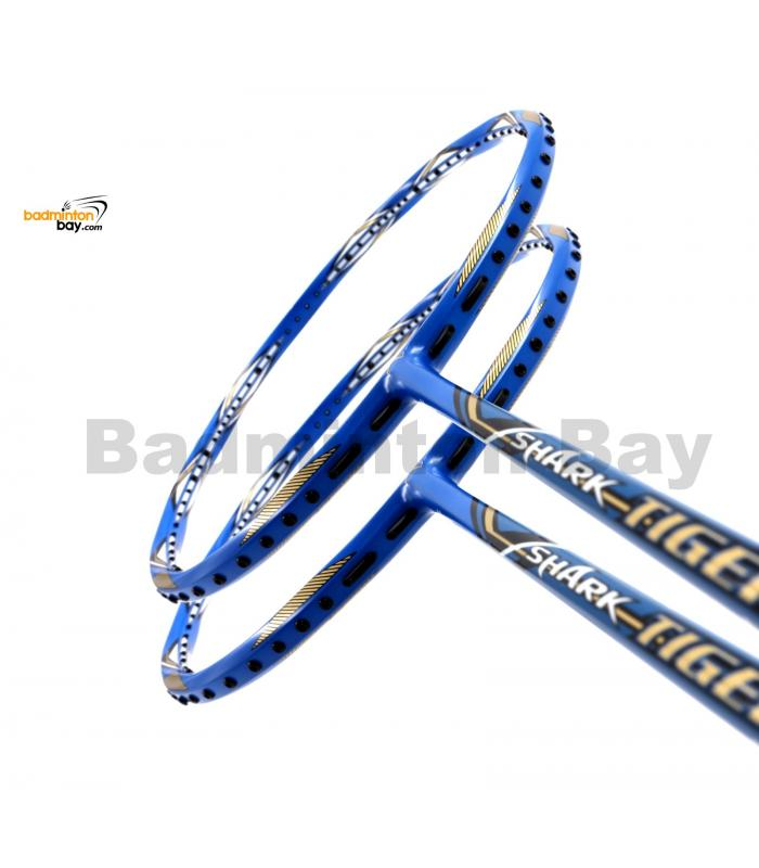 2 Pieces Deal: Abroz Shark Tiger Badminton Racket 6U