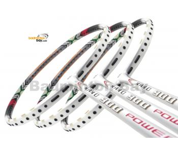 3 Pieces Rackets - Apacs Nano 900 Power White Badminton Racket