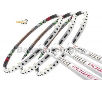 3 Pieces Rackets - Apacs Nano 900 Power White Badminton Racket