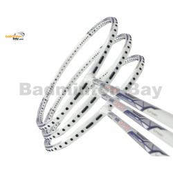 40% OFF LIMITED TIME UNSTRUNG 3 Pieces Rackets - Abroz Shark Great White Badminton Racket (6U) Badminton Racket