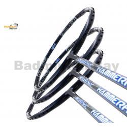3 Pieces Rackets - Abroz Shark Hammerhead Badminton Racket (6U) Badminton Racket