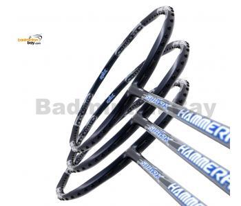 40% OFF LIMITED TIME UNSTRUNG 3 Pieces Rackets - Abroz Shark Hammerhead Badminton Racket (6U) Badminton Racket