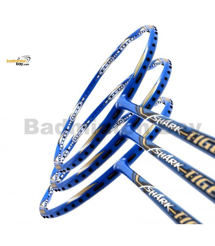 3 Pieces Rackets -Abroz Shark Tiger Badminton Racket (6U)