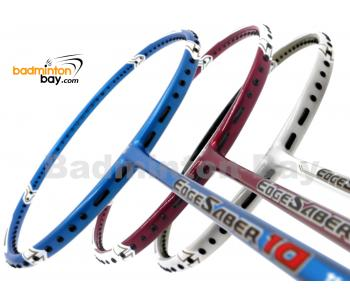 3 Pieces Rackets - Apacs EdgeSaber 10 Three Colors Badminton Racket