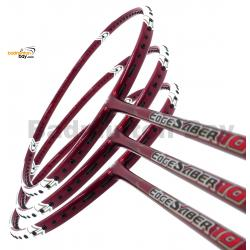 3 Pieces Rackets - Apacs EdgeSaber 10 (Red) Badminton Racket