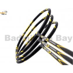3 Pieces Rackets - Apacs Virtuoso Performance Black Badminton Racket (3U)