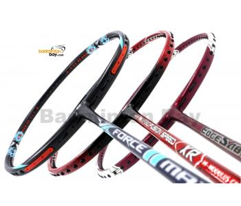 Staff Picks 1 : 3 Rackets - Apacs Force II Max, Apacs Nano Fusion Speed XR & Apacs Edgesaber 10 Red