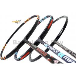 Staff Picks 2 : 3 Rackets - Apacs Force II Max, Apacs Nano Fusion 722 Speed Black & Apacs Nano 9900