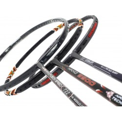 Staff Picks 1 : 3 Rackets - Apacs Z Ziggler, Apacs Nano 9900 & Apacs Nano Fusion Speed 722 Black