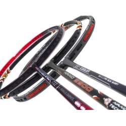 Staff Picks 2 : 3 Rackets - Apacs Z Ziggler, Apacs Nano 9900 & Apacs Nano Fusion Speed 722 Red