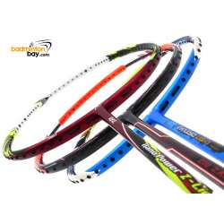 Staff Picks 6 : 3 Rackets - Apacs Virtuoso Light BLUE GREEN, Abroz Nano Power Z-Light, Apacs Zig Zag III Orange (Prime Version)
