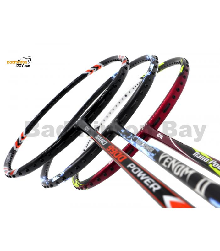 Staff Picks 8 : 3 Rackets - Abroz Nano Power Z-Light, Abroz Nano Power Venom, Abroz Nano 9900 Power