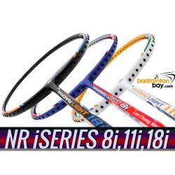 Staff Picks iSeries : 3 Rackets - Yonex Nanoray Light 8i, Nanoray Light 11i & Nanoray Light 18i iSeries (5U-G5) Badminton Racket
