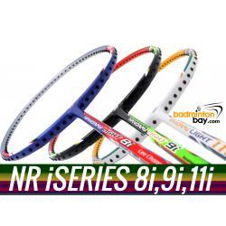 Staff Picks iSeries : 3 Rackets - Yonex Nanoray Light 8i, Nanoray Light 9i & Nanoray Light 11i iSeries (5U-G5) Badminton Racket